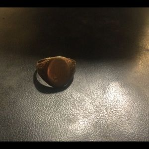 Victorian 14K Worn Family Seal Ring